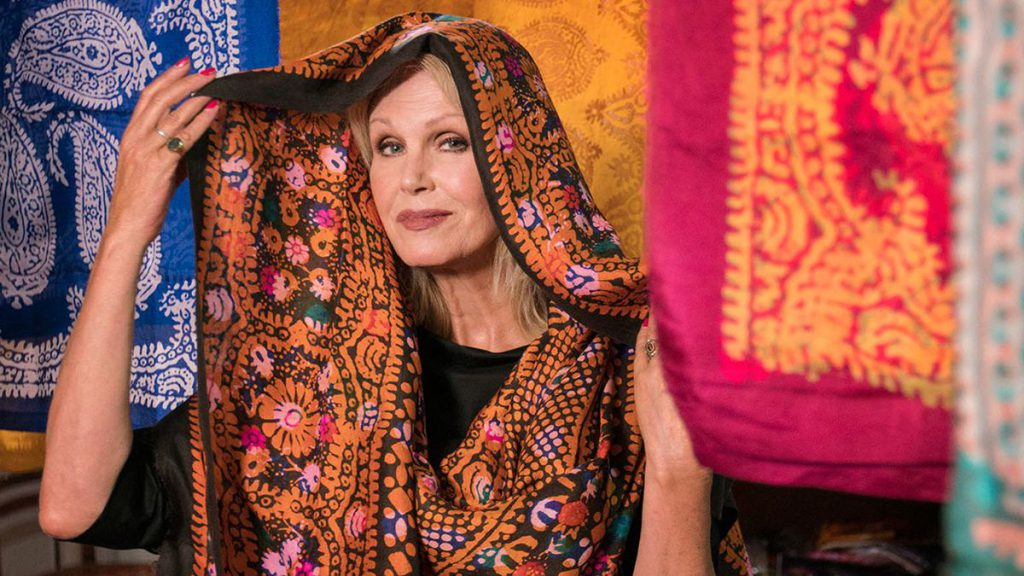 joanna lumley in iran