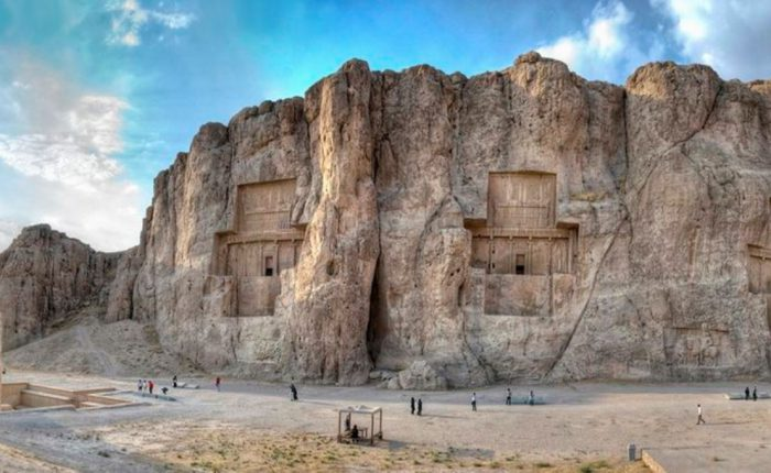 The Achamanid tombs